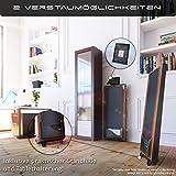 DESKFIT DFT200 Laufband für / unter Schreibtisch - fit und gesund im Büro & zu Hause. Bewegen und ergonomisches Arbeiten, keine Rückenschmerzen - mit praktischer Tablet-Halterung, Fernbedienung und App (Dunkelbraun) - 5