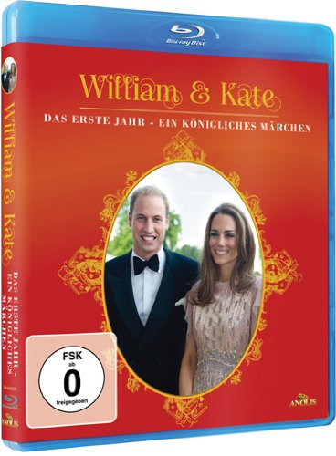 William & Kate - Ein königliches Märchen [Blu-ray]