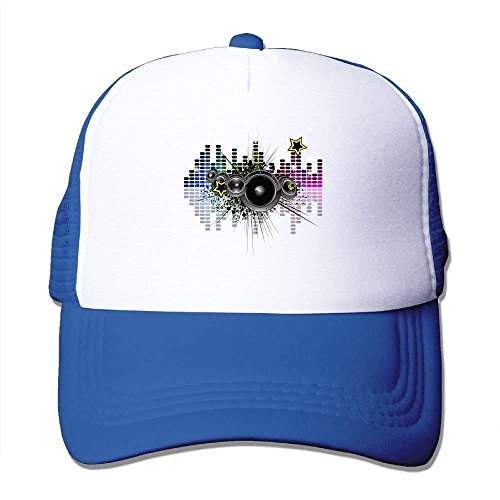 a373c69c447 FTR26S Sound Activated LED Printing Unisex Adult Vintage Mesh Trucker Hats  Snapback Meshback Caps Adjustable