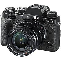 FujifilmX-T2 Mirrorless Digital Camera, 24.3 MP, 18-55mm, Black