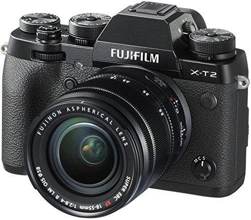 Fujifilm X-T2 with 18-55 mm F2.8-4.0 R LM OIS Lens Mirrorless Camera Kit(Black)
