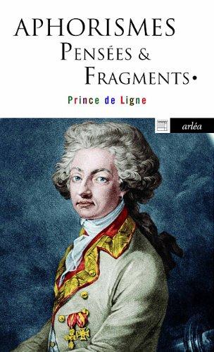 Aphorismes pensées & fragments