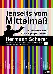 """Buchcover """"Jenseits vom Mittelmaß"""""""