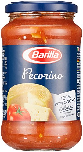 Barilla Pastasauce Pecorino – Sauce mit Pecorino Romano 6er Pack (6x400g)