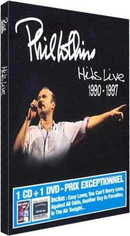 PHIL COLLINS-HITS LIVE 1990-1997 -DVD+CD-