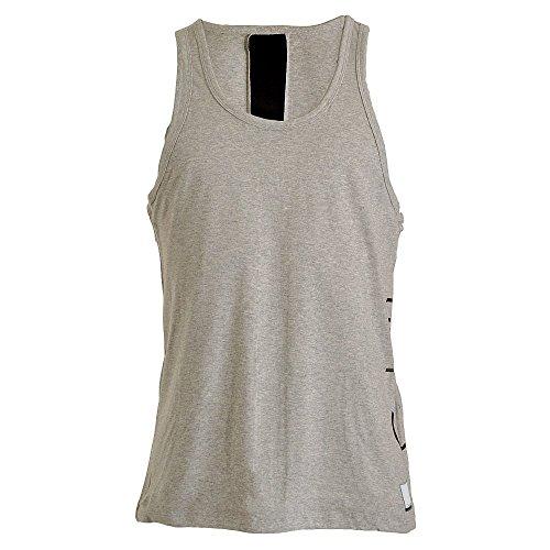 Calvin Klein Herren Top Tank Grau (Grey Heather 080) Medium -