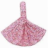 praktische Babytrage Baumwolle Baby-Tragetücher, pink [Bärenmuster]