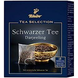 Tchibo Tee Selection Schwarzer Tee Darjeeling – 18 Teebeutel