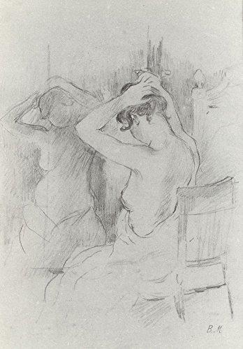 Der Museum Steckdose-Bevor der Spiegel Von Morisot-Leinwand Print Online kaufen (76,2x 101,6cm)