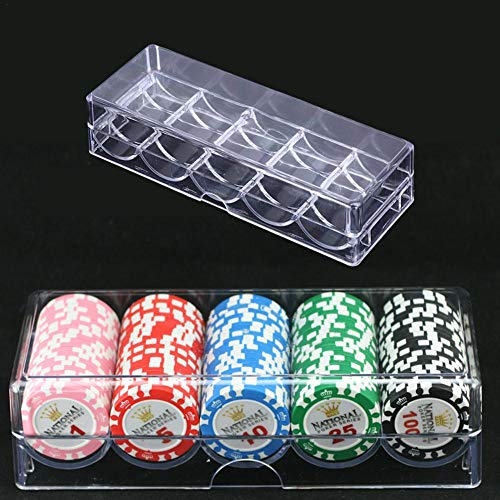 Class-Z Acryl Poker Chip Tray Set für
