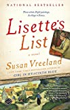 Front cover for the book Lisette's List by Susan Vreeland
