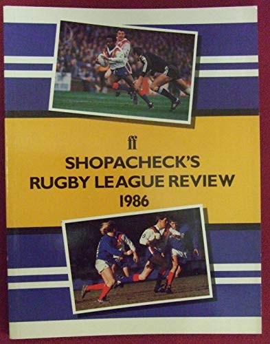 Shopacheck's Rugby League Review 1986