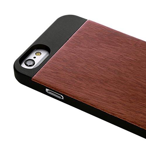 RE:CRON Edles Holz Handycase für Apple iPhone 6 aus Rosenholz Rose