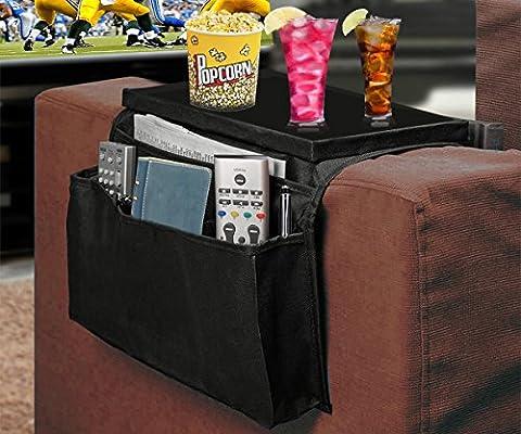 Organisateur rangement pour accoudoir de canapé sofa Housse de rangement Arm Rest Organizer - casa