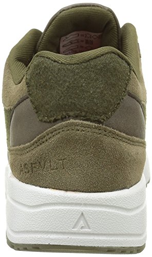 Asfvlt City Run, Sneaker Basse Unisex - Adulto Vert (Autumn Forrest Earth)