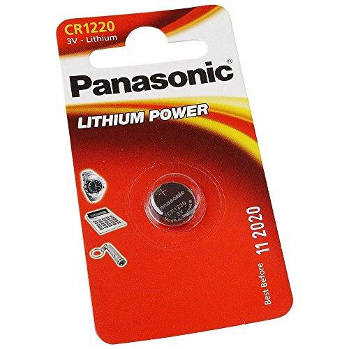Galleria fotografica Lotto di 4batterie Panasonic CR1220–litio 3V