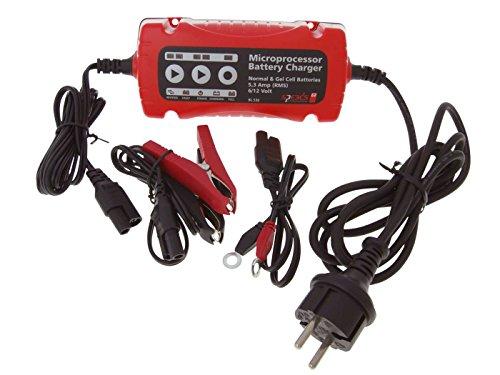 Profi Batterie Ladegerät Speeds BL530 für 6V / 12V Blei, MF, Gel, 5-120Ah für Auto, Motorrad, LKW, Roller, Quad
