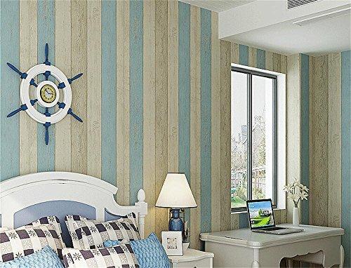Toprate Papel pintado no tejido,Papel pintado imitación madera,color