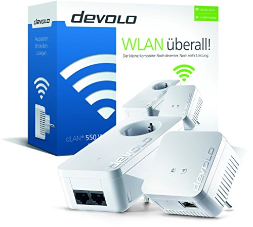 dLAN 550 WiFi Starter Kit Powerline - 2