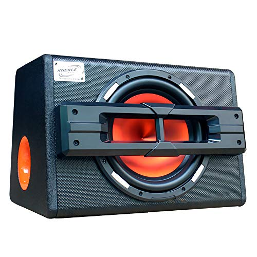 LIDAUTO Auto Subwoofer Aktive Trapez Übergewicht Audio Subwoofer Lautsprecher Geändert High Power Hause 10inch 12V 1200W Dual-10 Subwoofer-box
