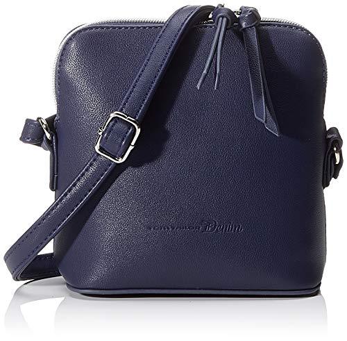 TOM TAILOR Umhängetasche Damen Freia, Blau (Blau), 20x18x9 cm, TOM TAILOR Handtaschen, Taschen für Damen, klein