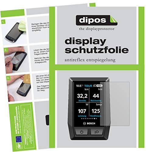 dipos I 6X Schutzfolie matt passend für Bosch Kiox e-Bike Display Folie Displayschutzfolie