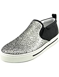 Marc by Marc Jacobs Slip On EN Piel Mujer Nuevo Sparkling Plata