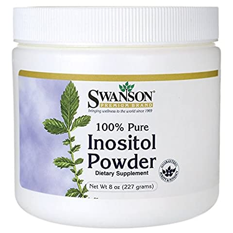 Swanson 100% Pure Inositol Powder (227g)