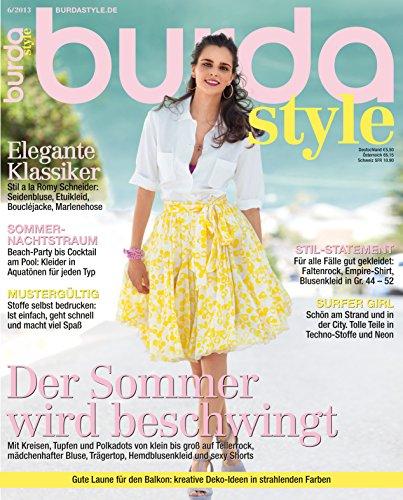 Burda style 2013 #06 Juni-Ausgabe (2013 Schuhe Männer)