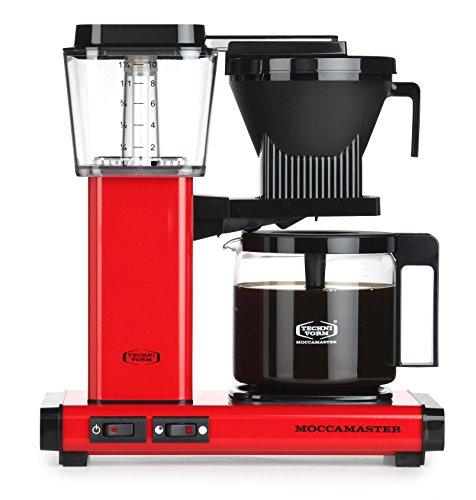 Moccamaster 59672 KBG 741 AO Filter Kaffeemaschine, Aluminium