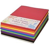 Dovecraft - Confezione da 50 fogli di spugna, formato A4, colori assortiti