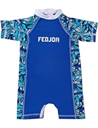 FEDJOA - Maillot Anti-UV bébé - TEAHUPPO- Innovation anti sable