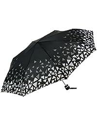 Gaudi-Barcelona Paraguas Plegable, Color Negro