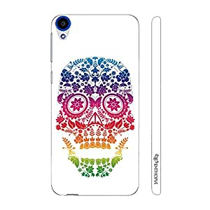 Enthopia Designer Hardshell Case Skull Art 3 Back Cover for HTC Desire 820