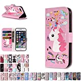 LA-Otter Coque Apple iPhone 5 5S Se Licorne Flip Case Housse Etui à Rabat Folio...
