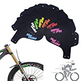 ZREAL 1.2mm MTB Bike Fender Front Bicycle Mountain Road Ciclismo Flectional Guardabarros Conjunto
