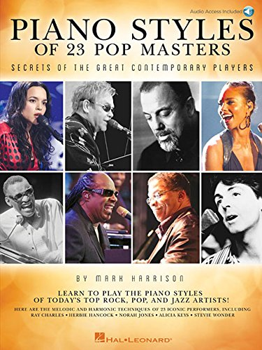 Piano Styles Of 23 Pop Masters: Secrets Of The Great Contemporary Players (Book/Online Audio) por Mark Harrison