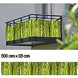 Balkon Sichtschutz Sichtschutz Dekor Balkon Dekor - Motiv Bambus