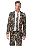 Generique - Kürbis Suitmeister Kostüm - Halloween L