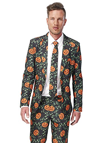 Generique - Kürbis Suitmeister Kostüm - Halloween XL