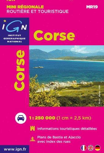 Mr19 Mini Corse 1/250.000