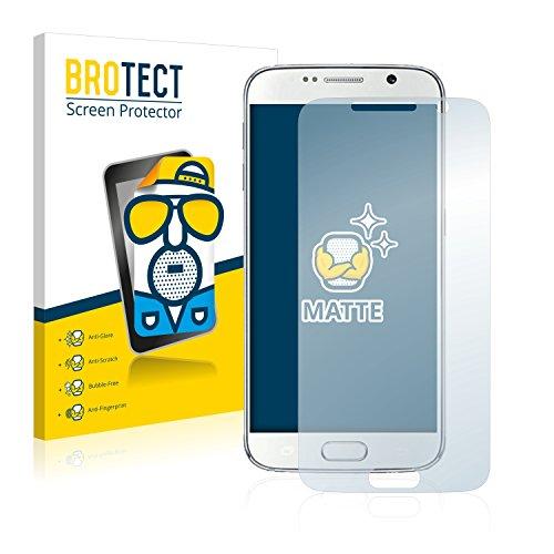 BROTECT Schutzfolie Matt für No. 1 S6i Displayschutzfolie [2er Pack] - Anti-Reflex Displayfolie, Anti-Fingerprint, Anti-Kratzer