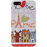 Akashi ALTCI41121237SH Paris Design Coque pour iPhone 4/4S