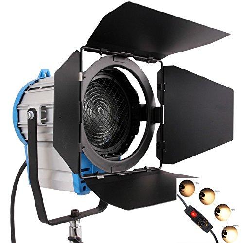 HWASTUDIO ® 2000 Watt, Fotografie, Video Studio Film und Fernsehen Tungsten Fresnel kontinuierliche Beleuchtung Licht Arri Studio