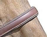 HKM 555645 Lederhalfter Classy, weich unterlegt, Vollblut, braun