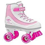 Roller Derby FireStar V2 Rollschuhe - weiß/Pink - EU 33