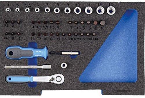 Preisvergleich Produktbild Gedore EI-1100 CT1-20 Schaumstoffeinlage, 1/2 L-BOXX 136, leer