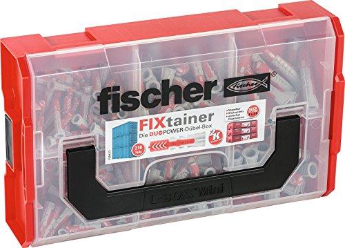 Fischer fixtainer Duo Power Caja de tacos
