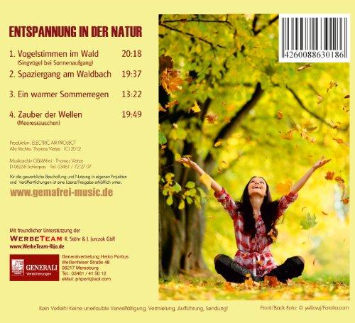 Der Klang der Natur – Wald Bach Regen und Meer-Naturklänge - 2