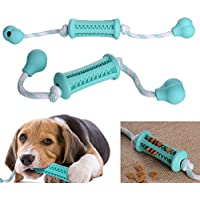 Pet Chew Toys for Dogs, Teething Stick Nontoxic Rubber Bite Resistant Toy Pet Exercise Game Ball IQ Training Ball Puppy Doggy Cat Tooth Cleaning Stick